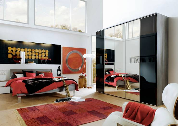 der richtige kleiderschrank f rs schlafzimmer. Black Bedroom Furniture Sets. Home Design Ideas