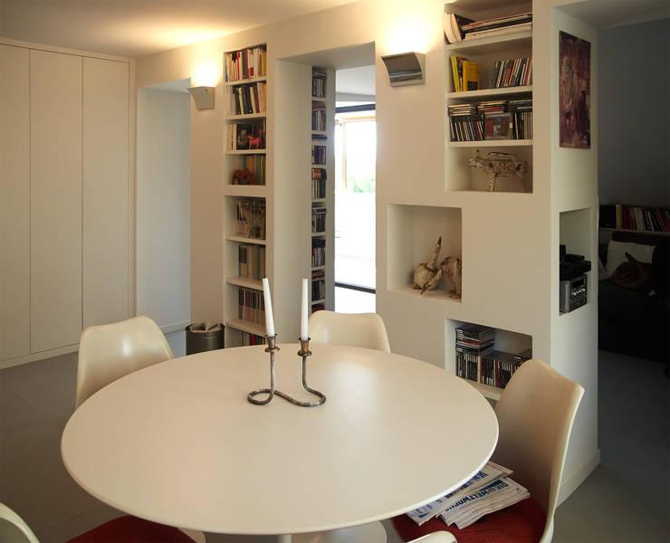 Come sfruttare al meglio lo spazio nella tua zona giorno for Stanza da pranzo moderna
