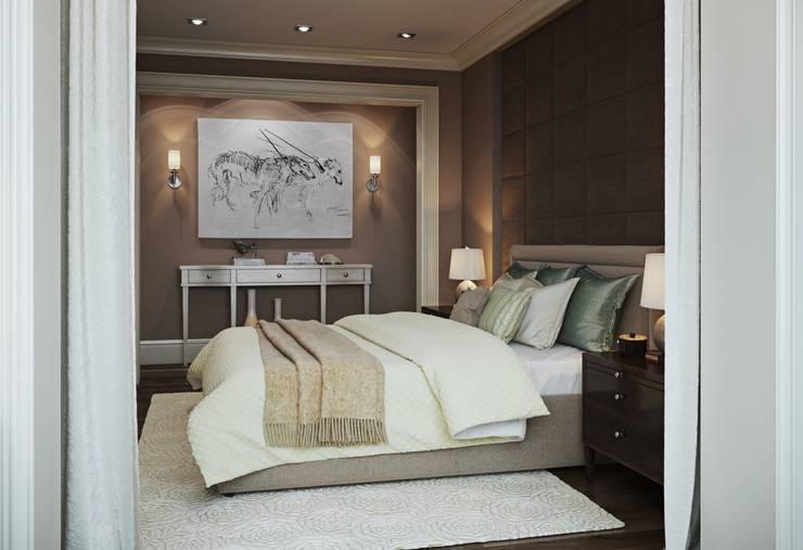 ausgefallene Schlafzimmer von MARION STUDIO