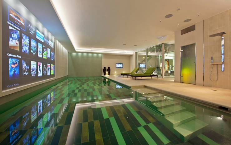Top 10 the best indoor pools in the uk for Pool design books