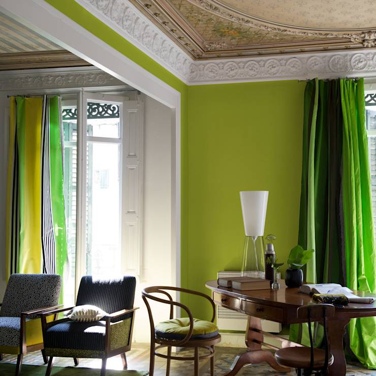 9 low cost decorating ideas using only paint for Designers guild bedroom ideas