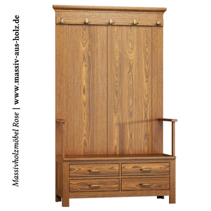 Dielenm bel garderoben und flurschr nke von for Garderobe treppenhaus