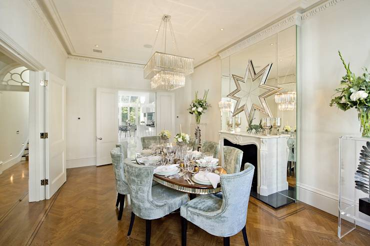Uniek herenhuis kreeg een volkomen nieuw leven - Deco kamer stijl engels ...