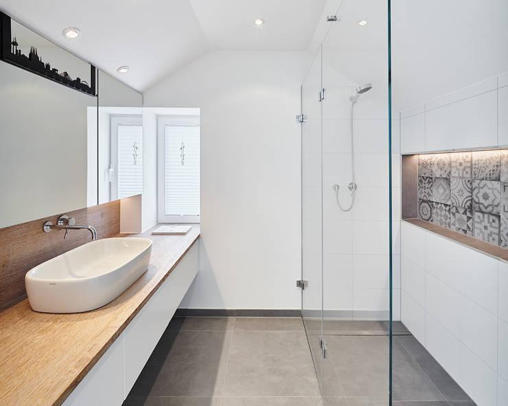 9 begehbare duschen mit wow effekt - Zementfliesen dusche ...