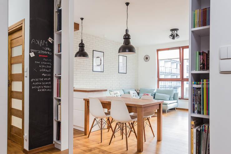 Un magico appartamento in stile scandinavo for Appartamento stile newyorkese