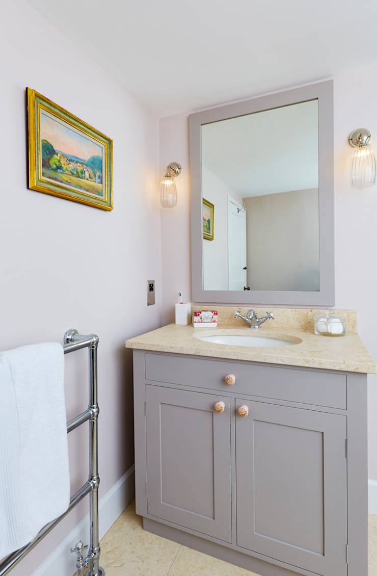 Houzz guest bathrooms - Classic Transitional Guest Bathroom Renovation Houzz