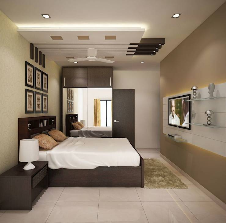 Modern Interior Decoration Living Rooms Ceiling Designs: A Beautiful Apartment In Bangalore That Is Every Family's