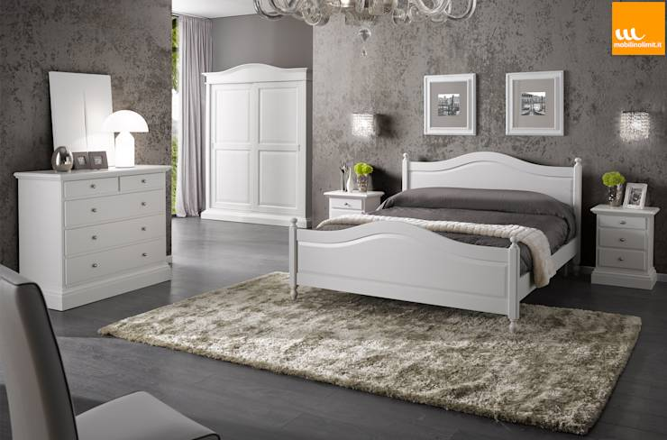 Camera Da Letto Arte Povera : Camera da letto matrimoniale in stile ...