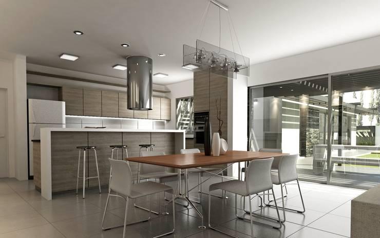 Se pueden tener ventanales en espacios integrados for Cocinas argentinas decoracion