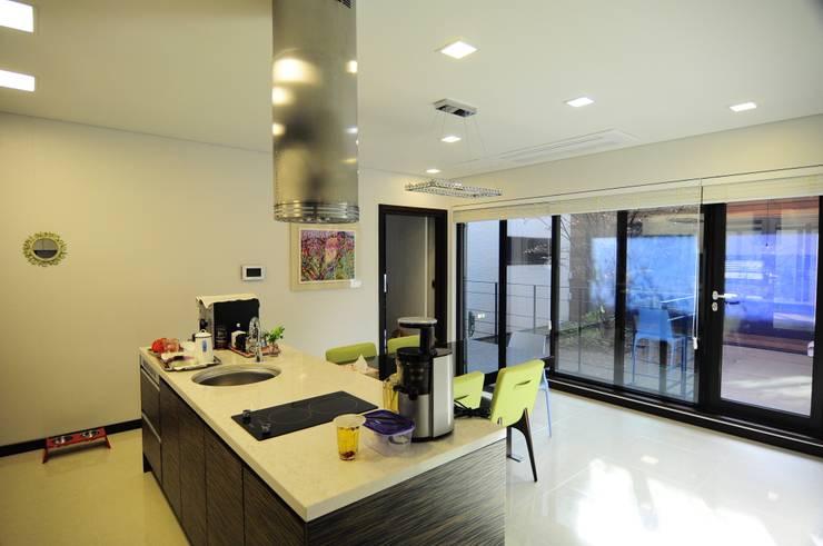 주방과 거실을 분리하기 위한 6가지 아이디어