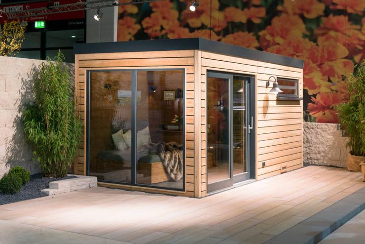 impressionen w rmegrad au ensauna gartensauna von. Black Bedroom Furniture Sets. Home Design Ideas