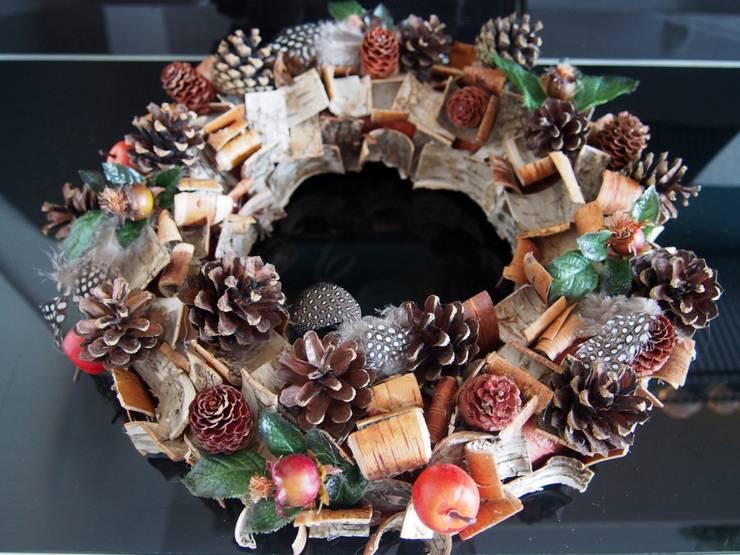 adventskranz t rkranz winterkranz weihachten deko weihnachtskranz von stil ikonen ladies. Black Bedroom Furniture Sets. Home Design Ideas