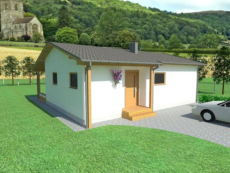 Abodde Small Homes:  tarz