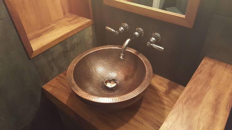 Decoração com cobre é linda e está na moda! -> Cuba Para Banheiro Bronze