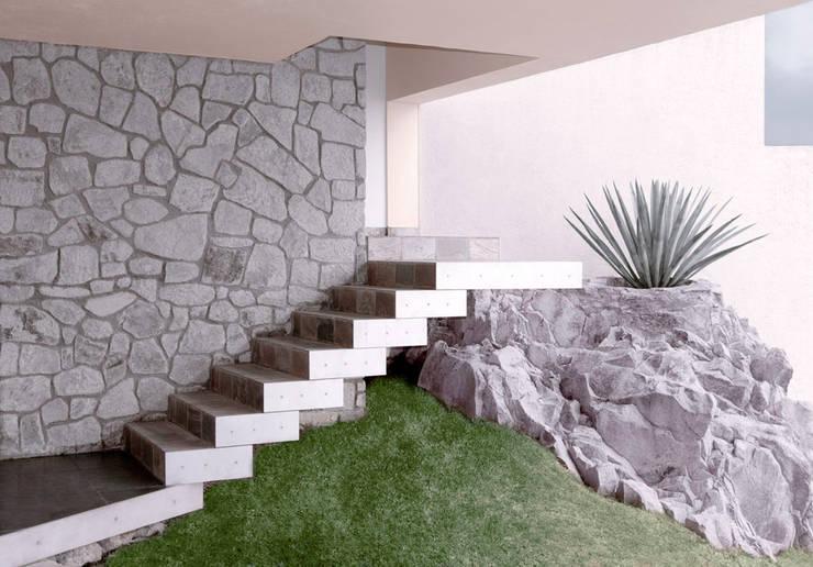 15 fant sticas escaleras con pelda os flotantes for Dimensiones de escaleras