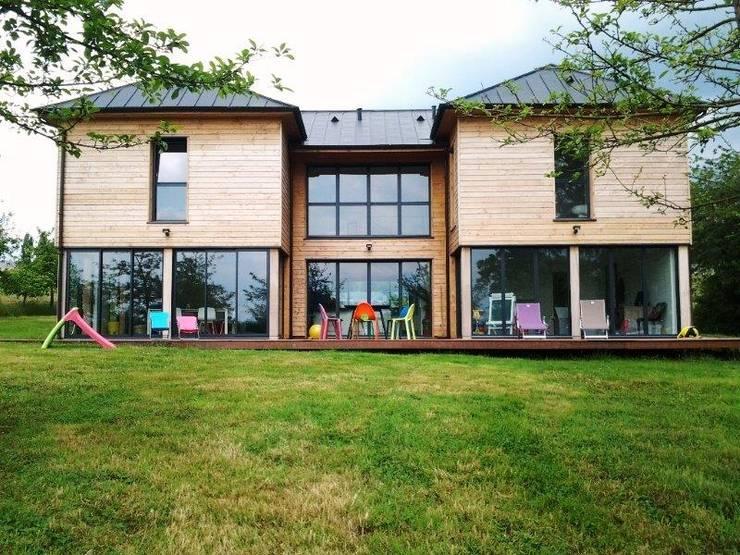Les 10 plus belles maisons en bois for Id maison bois