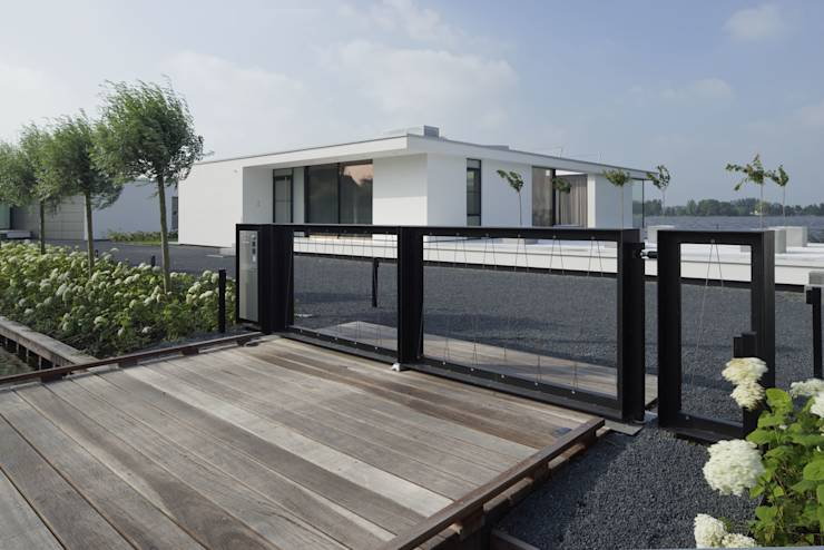 7 stijlen gevels voor kleine woningen for Moderne stijl gevel