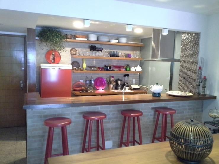 43 cocinas r sticas perfectas para instalar en el patio for Cocinas rusticas para patios