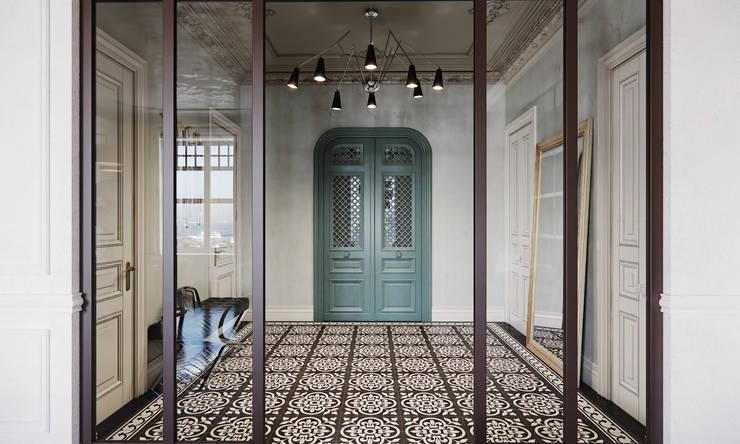 Eclectische designwoning wat een inspiratie - Hal ingang design huis ...