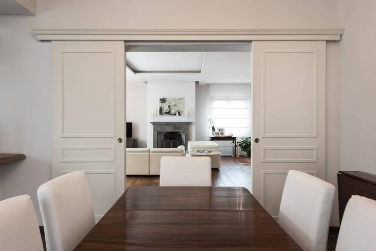 38 idee su come dividere sala da pranzo soggiorno e cucina for Case senza sale da pranzo