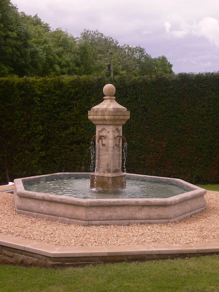french style stone fountains by barton fields landscaping supplies