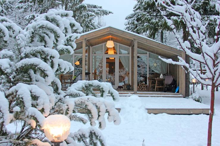 An amazing modular home of 50 thousand USD built in 3 months
