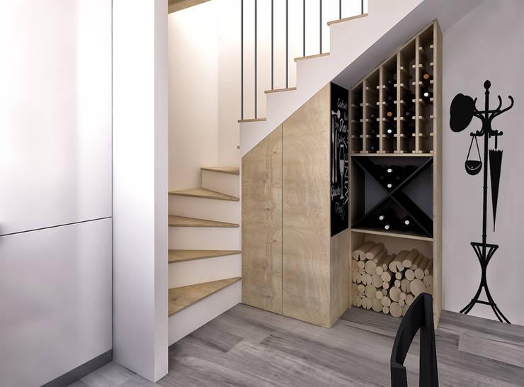 6 idee uniche per sfruttare lo spazio sotto le scale for Chiusura vano scala interno
