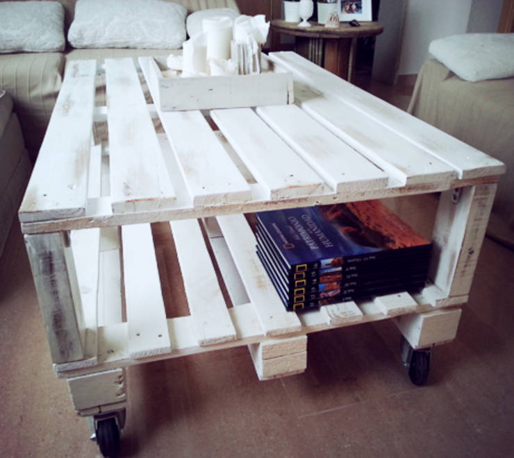 Mesas hechas con palets de mind made muebles hechos con - Mesas hechas de palets ...