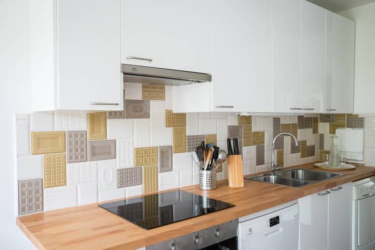 Topes de cocina descubre los materiales m s higi nicos y - Cocinas con encimeras de madera ...
