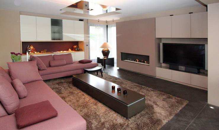 Een gezellig en modern interieur