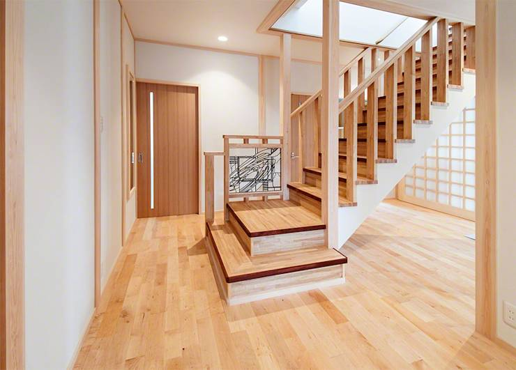 7 escaleras de madera para 7 necesidades distintas for Escaleras de madera con descanso