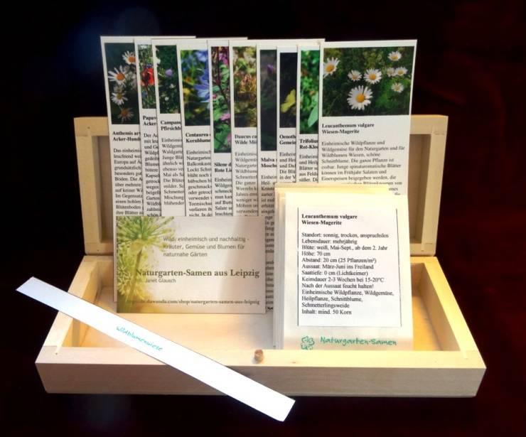wildblumenwiese saatgut box von naturgarten samen aus. Black Bedroom Furniture Sets. Home Design Ideas