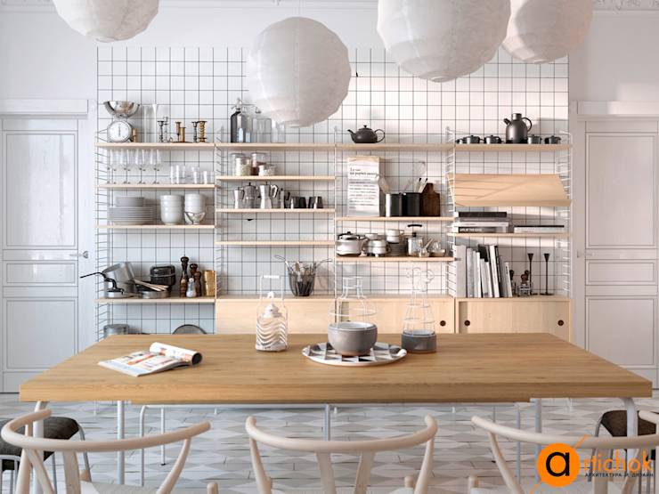 scandinavian Kitchen by Art-i-Chok