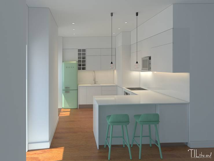 11 theken die kleine k chen perfekt machen. Black Bedroom Furniture Sets. Home Design Ideas