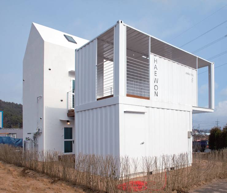 6 trendy container houses (built with tiny budgets)