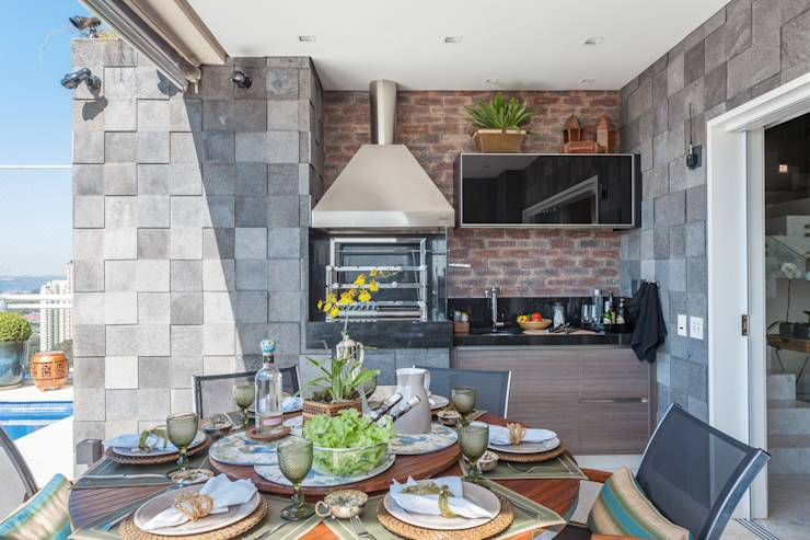 6 ideas para que tu casa tenga una bella terraza con for Parrillas para casas modernas