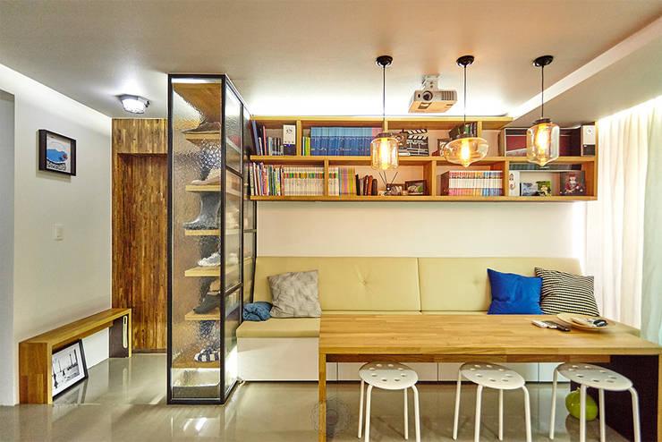Comedores de estilo industrial por 제이앤예림design