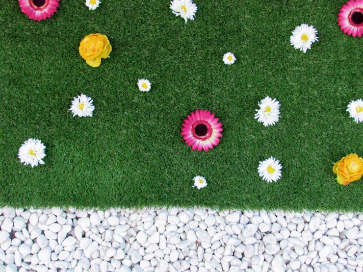 C sped artificial 12 ideas fant sticas para tu casa for Como decorar un jardin sin cesped
