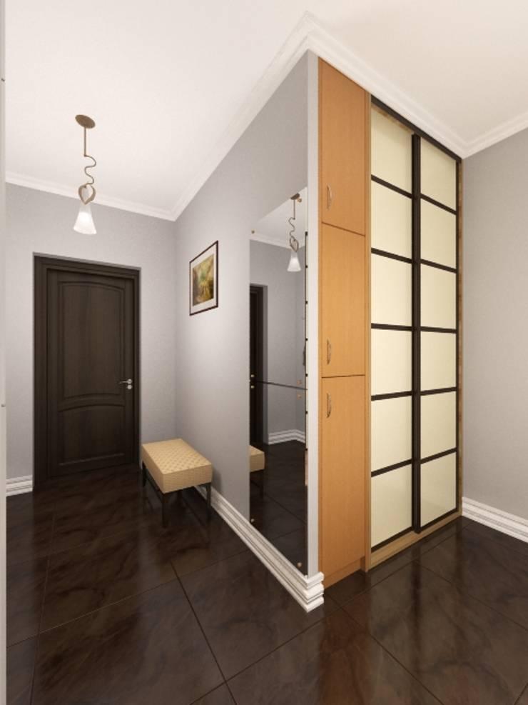 оформление входной двери и холла