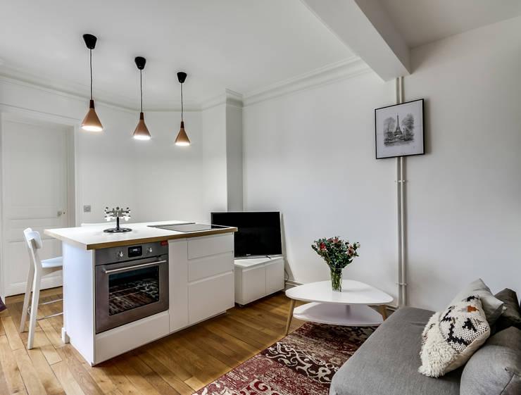50 m gro es appartement perfekt genutzt. Black Bedroom Furniture Sets. Home Design Ideas