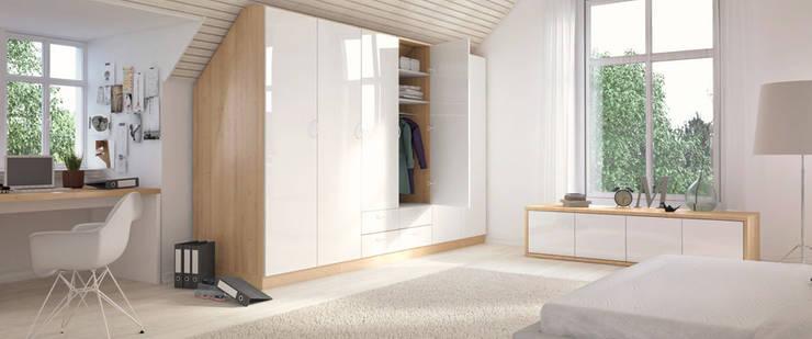 m bel f r das dachgeschoss by gmbh homify. Black Bedroom Furniture Sets. Home Design Ideas