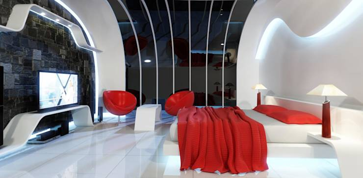 Awesome bedroom designs from the future for Future bedroom ideas