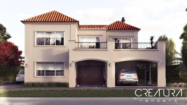 25 fachadas de casas modernas que debes ver antes de for Casas modernas clasicas