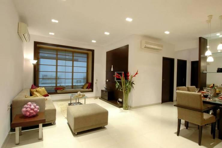 A modern pune apartment full of style for Living room kandivali east