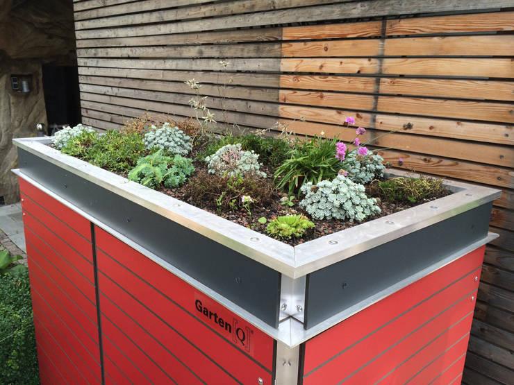 das raumwunder fur kleine garten balkon und terrasse With französischer balkon mit garten gestaltungsideen für kleine gärten