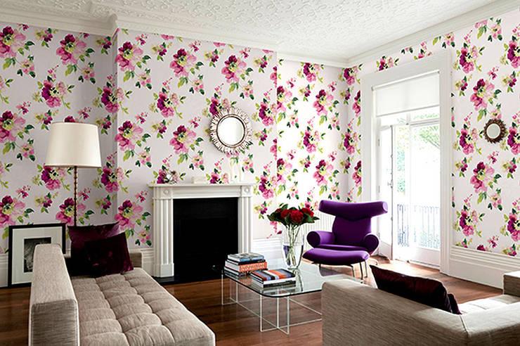 Papel tapiz casero estas s son paredes como las de antes for Papel para tapizar paredes