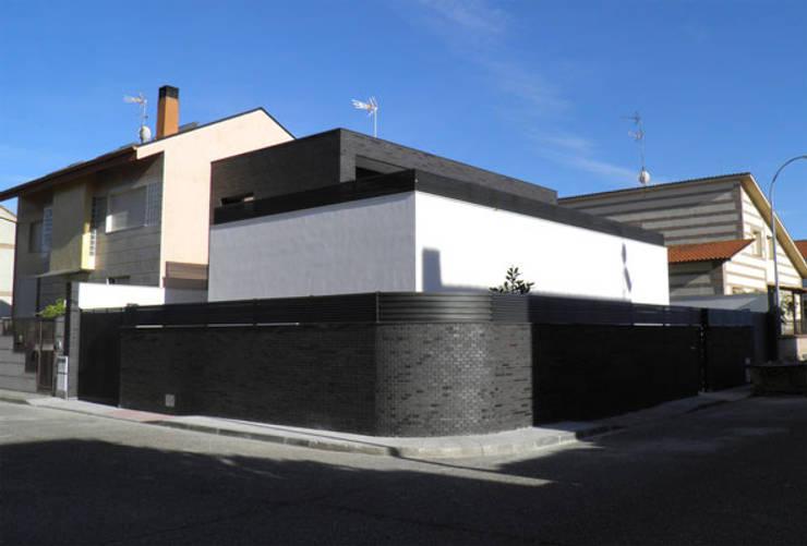 Una vivienda moderna sin obst culos - Estudio arquitectura toledo ...
