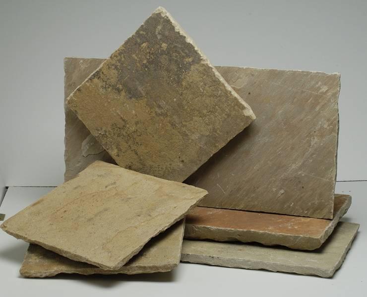 Pietra indiana di arte pietra homify - Piastrelle in pietra naturale ...