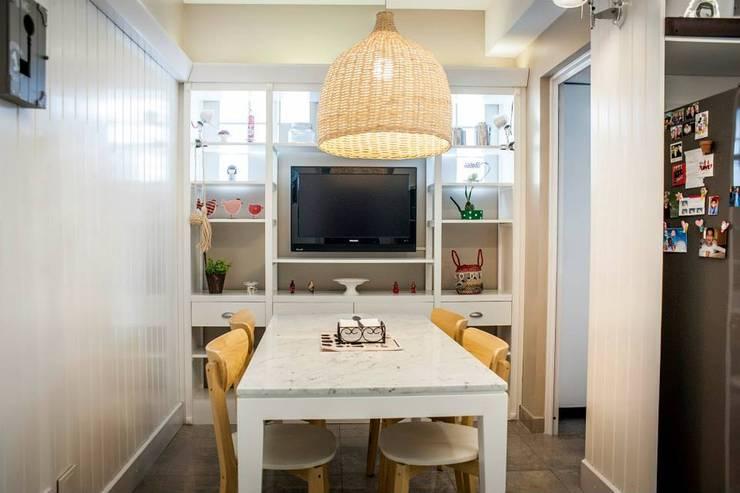 10 comedores bonitos para espacios peque itos - Comedores bonitos y modernos ...