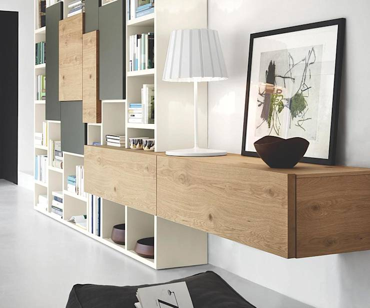 holz tv m bel aus eiche von livarea homify. Black Bedroom Furniture Sets. Home Design Ideas